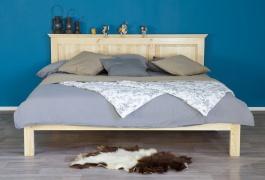 Masivní postel 90x200 ACC 01 - výběr moření