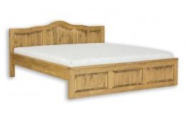 Masivní postel 140x200cm ACC 04 - výběr moření