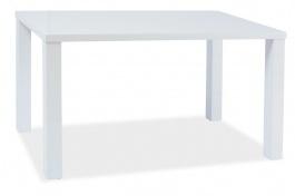 Jídelní stůl MONTEGO 120x80cm -  bílý lesk