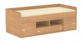 Dětská postel REA Poppo - buk - výběr čílek