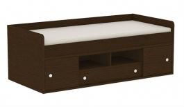 Dětská postel REA Poppo 90x200cm - wenge - výběr čílek