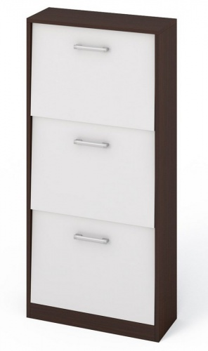 Botník 530R1 wenge/bílá
