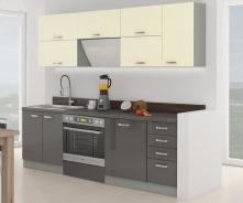 Kuchyně KARMEN GREY 240
