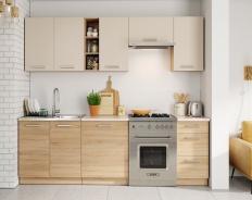 *Kuchyně LENA 240 písek/sonoma