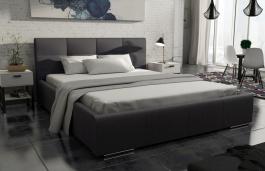 Čalouněná postel MEDIOLAN 160x200 černá