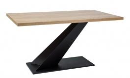 Jídelní stůl ARROW dub masiv 150x90 cm