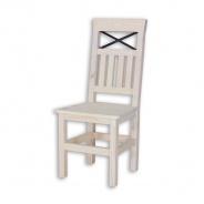 Židle z masivu SEL 15, Provence styl - výběr moření