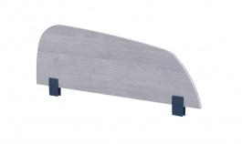 Zábrana na postel Lincoln - dub modrý