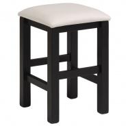 Stolička Clive - černá/bílá