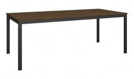 Jídelní stůl Dalton - černý/hnědý