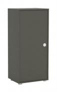 Úzká komoda REA Lary S2/110 - graphite