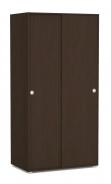 Vysoká skříň REA Lary S3/200 - wenge
