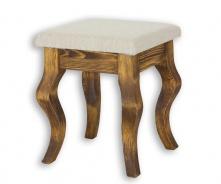 Stolička rustikální LUD 16 - výběr moření