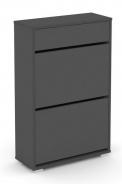 Výklopný botník REA 2R UP - graphite