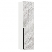 Jednodveřová skříň Caroline - bílá