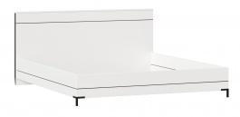 Postel bez roštu Caroline 180x200cm - bílá/černá