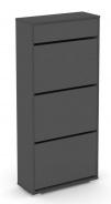 Výklopný botník REA 3R UP - graphite