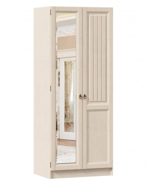 Šatní skříň Annie 2D (zrcadlo vlevo) - dub provence