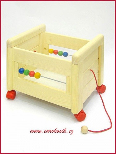 box na hračky dřevěný