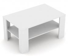 Konferenční stolek REA 3v - bílá
