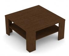 Čtvercový konferenční stolek REA 5 - wenge