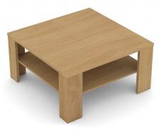 Čtvercový konferenční stolek REA 5 - buk