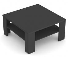 Čtvercový konferenční stolek REA 5 - graphite