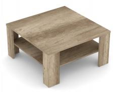 Čtvercový konferenční stolek REA 5 - dub canyon