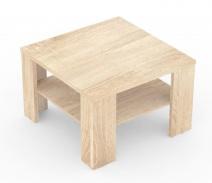 Čtvercový konferenční stolek REA 4 - dub bardolino