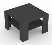 Čtvercový konferenční stolek REA 4 - graphite