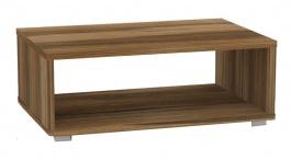 Konferenční stolek REA Play 2 - ořech rockpile - s kolečky/bez koleček