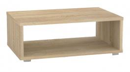 Konferenční stolek REA Play 2 - dub bardolino - s kolečky/bez koleček