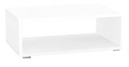 Konferenční stolek REA Play 2 - bílá - s kolečky/bez koleček