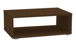 Konferenční stolek REA Play 2 - wenge - s kolečky/bez koleček
