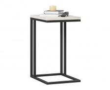 Odkládací stolek Robin - dub craft bílý/černá