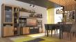 Obývací sestava Robin - dub zlatý/černá