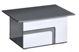 Konferenční stolek APETTITA 18 antracit/bílá