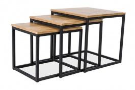 Konferenční stolky TRIO (3 ks)