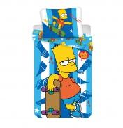 Dětské povlečení Bart - Skater