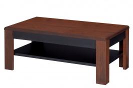 Konferenční stolek VIEVIEN 41 - dub koňak/černý mat