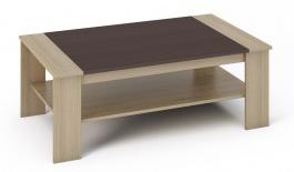 Konferenční stolek BERN sonoma/wenge