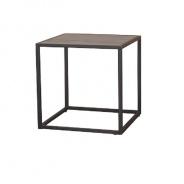 Příruční stolek, dub / černá, JAKIM TYP 1