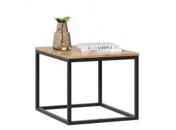 Malý konferenční stolek Trevor - dub wotan/černá