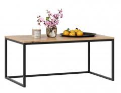 Konferenční stolek Trevor - dub wotan/černá