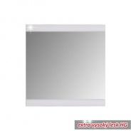 Předsíňové zrcadlo, bílá/vysoký lesk, DERBY