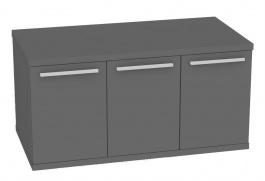 Skříňka pod umyvadlo REA REST 2 - graphite