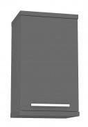 Horní koupelnová skříňka REA REST 3 - graphite