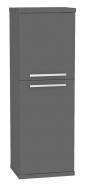 Koupelnová skříňka s košem na prádlo REA REST 4 - graphite