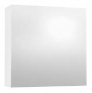 Závěsná skříňka se zrcadlem REA REST 6 - bílá