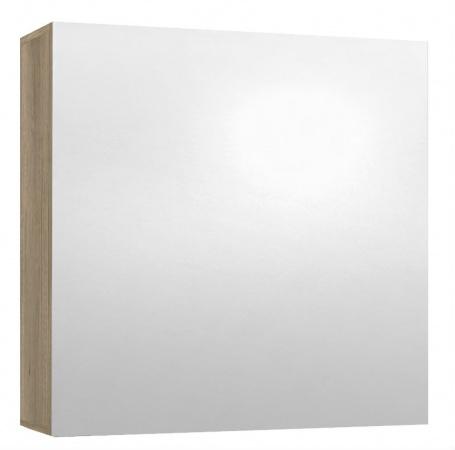 Koupelnová skříňka se zrcadlem REA REST 6 - dub canyon